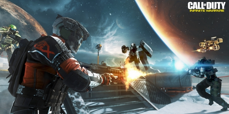 Call of Duty: Infinite Warfare bietet erstmals Crafting.