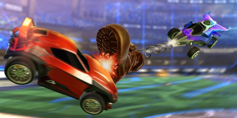 Das September-Update für Rocket League bringt den neuen Rumble-Modus.