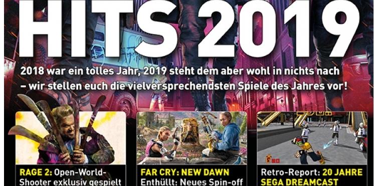 Games Aktuell 022019 Hits 2019 Dmc 5 Rage 2 Und Viele Mehr