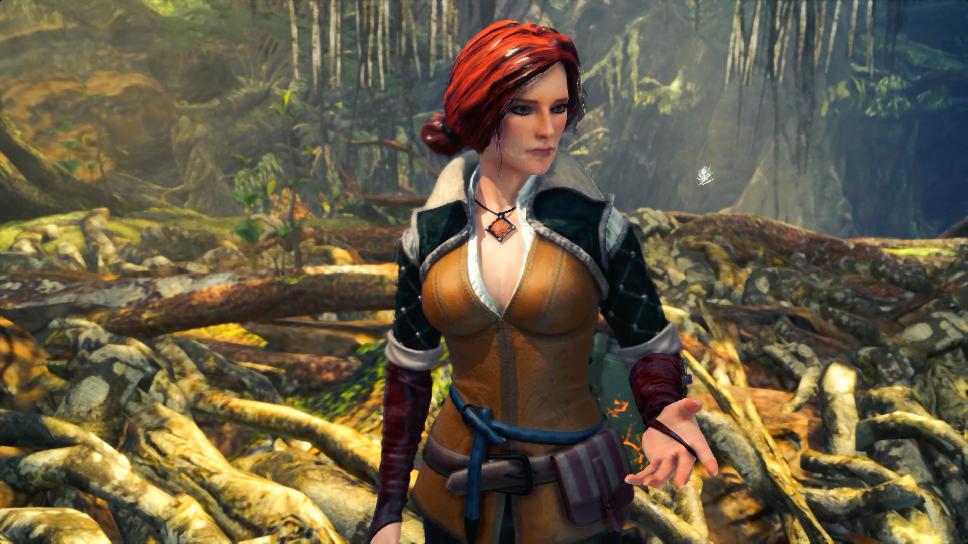 The Witcher: Fantastic Cosplay brings Triss Merigold to life