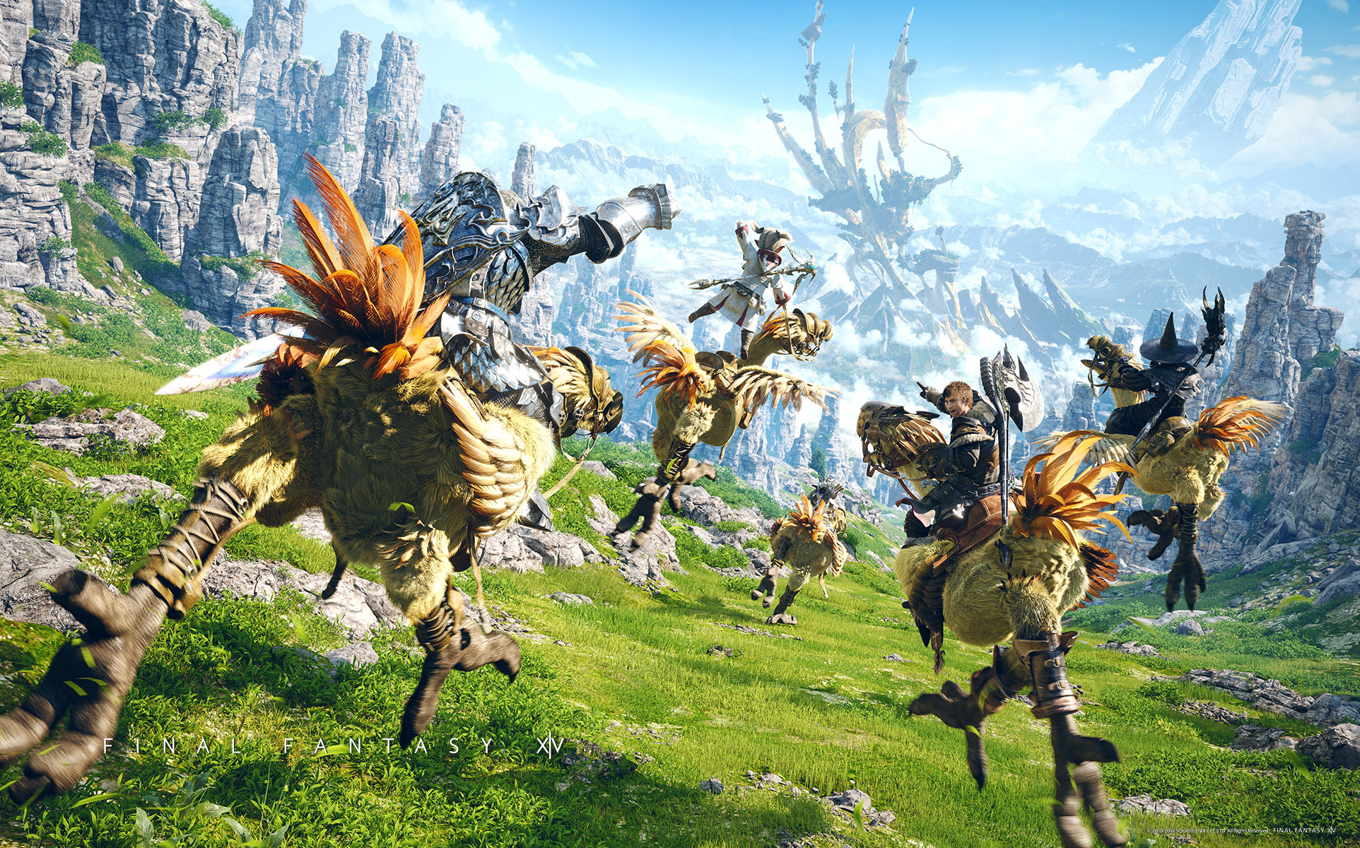 Final Fantasy 14: PS5 version announced, date for Open Beta