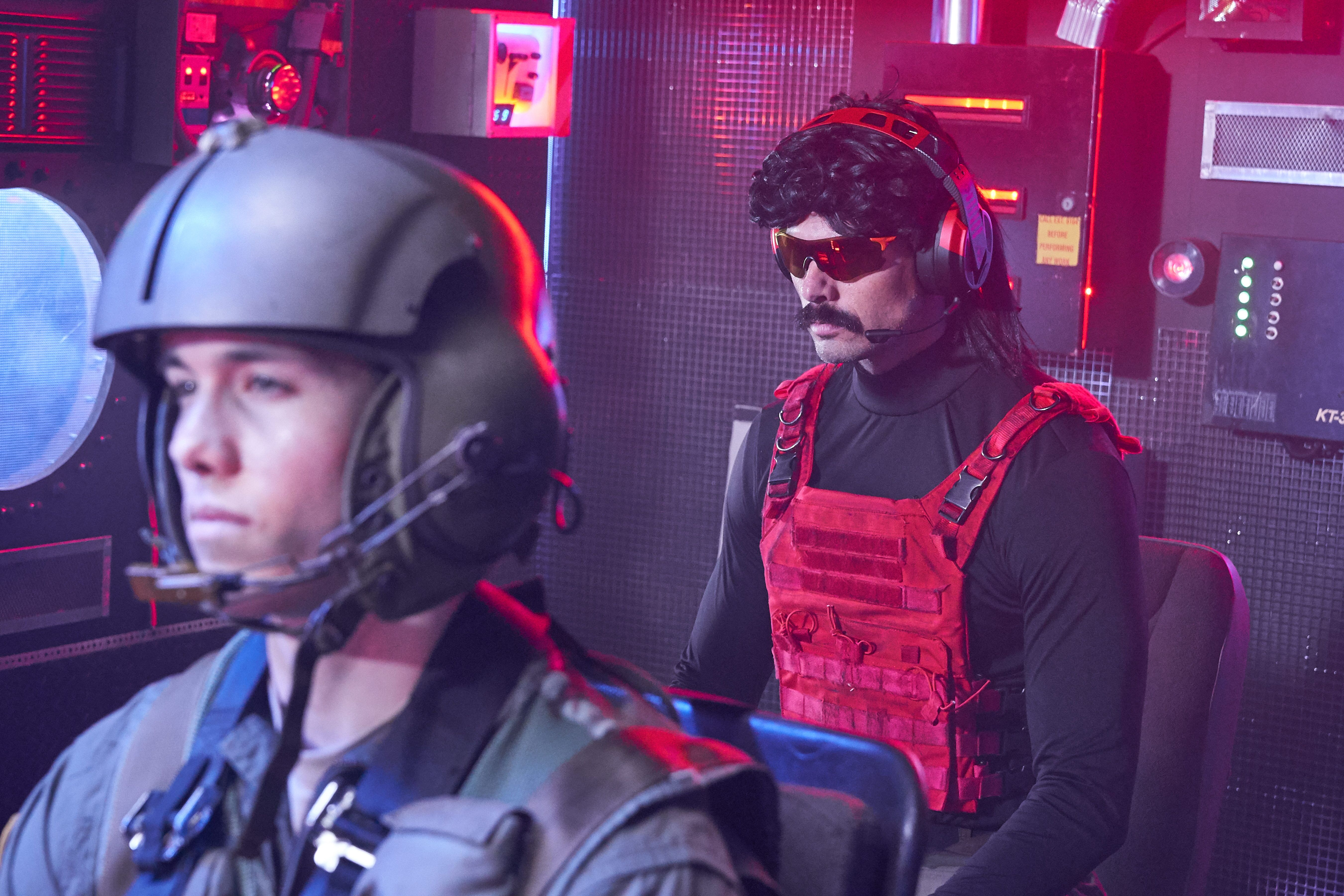 Dr Disrespect: Streamer knows the reason for being banned from Twitch