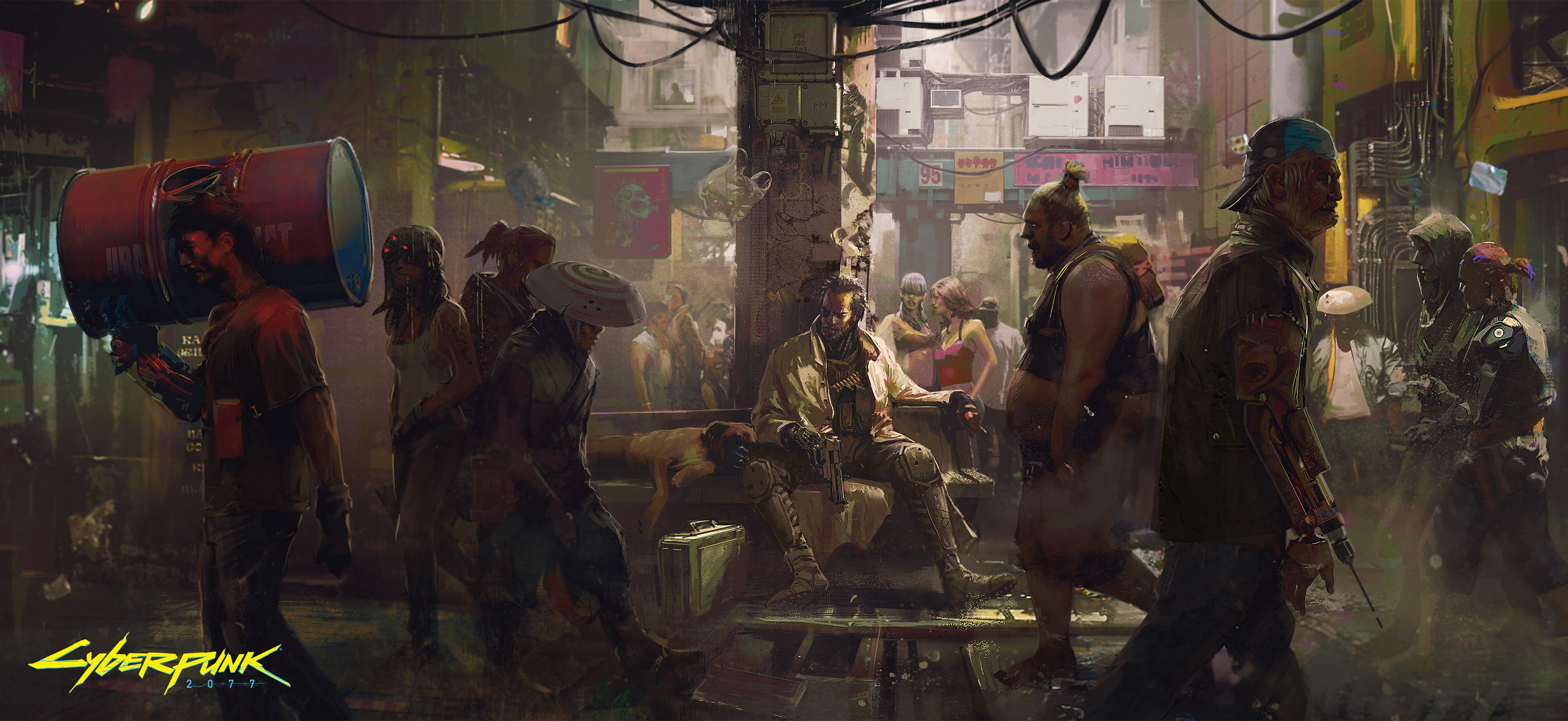The world of Cyberpunk 2077: This is what awaits you - inspiration, backgrounds and more