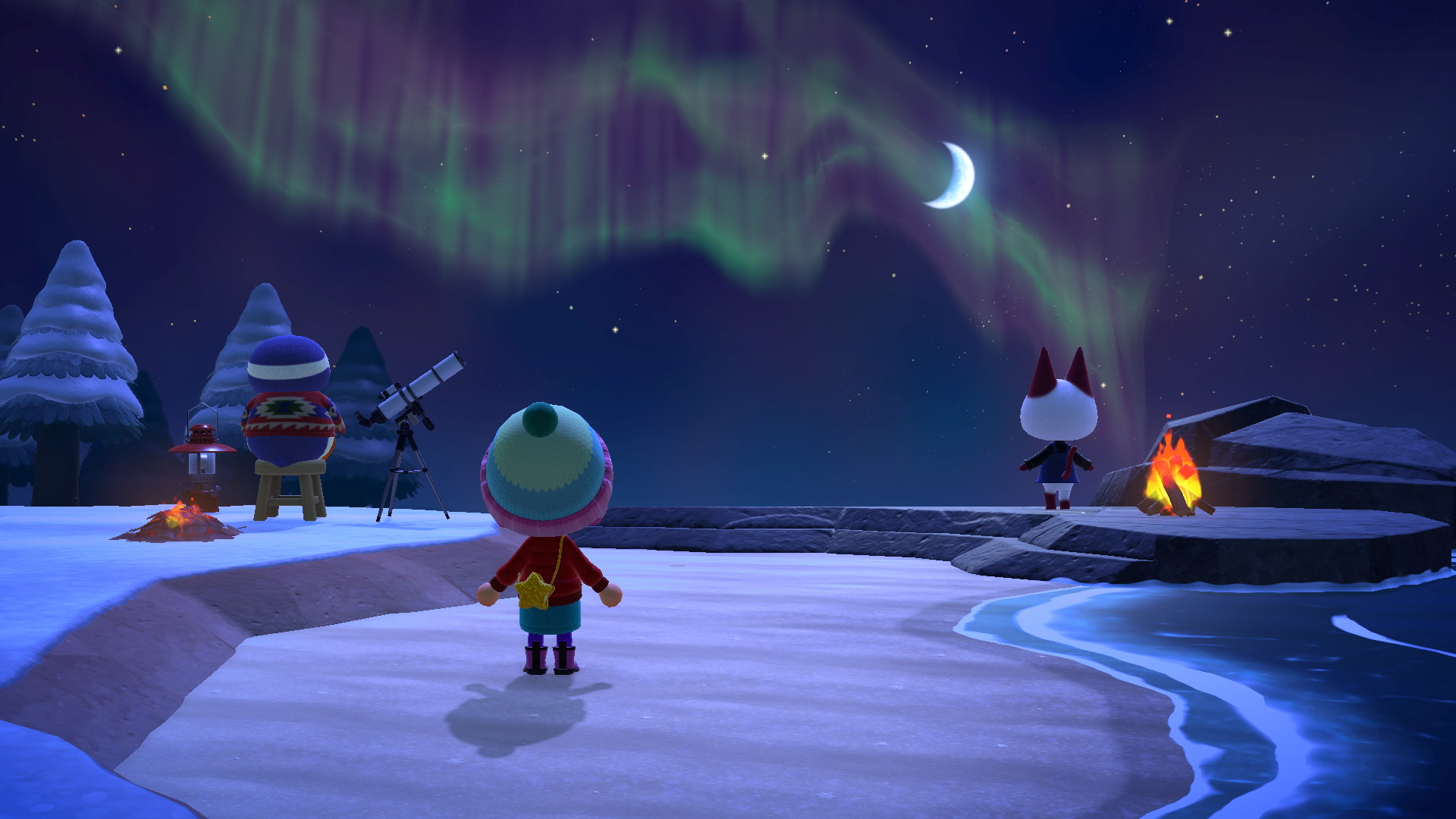 Animal Crossing: New Horizons in December: Fish, Toy Day & Gifts - this is new