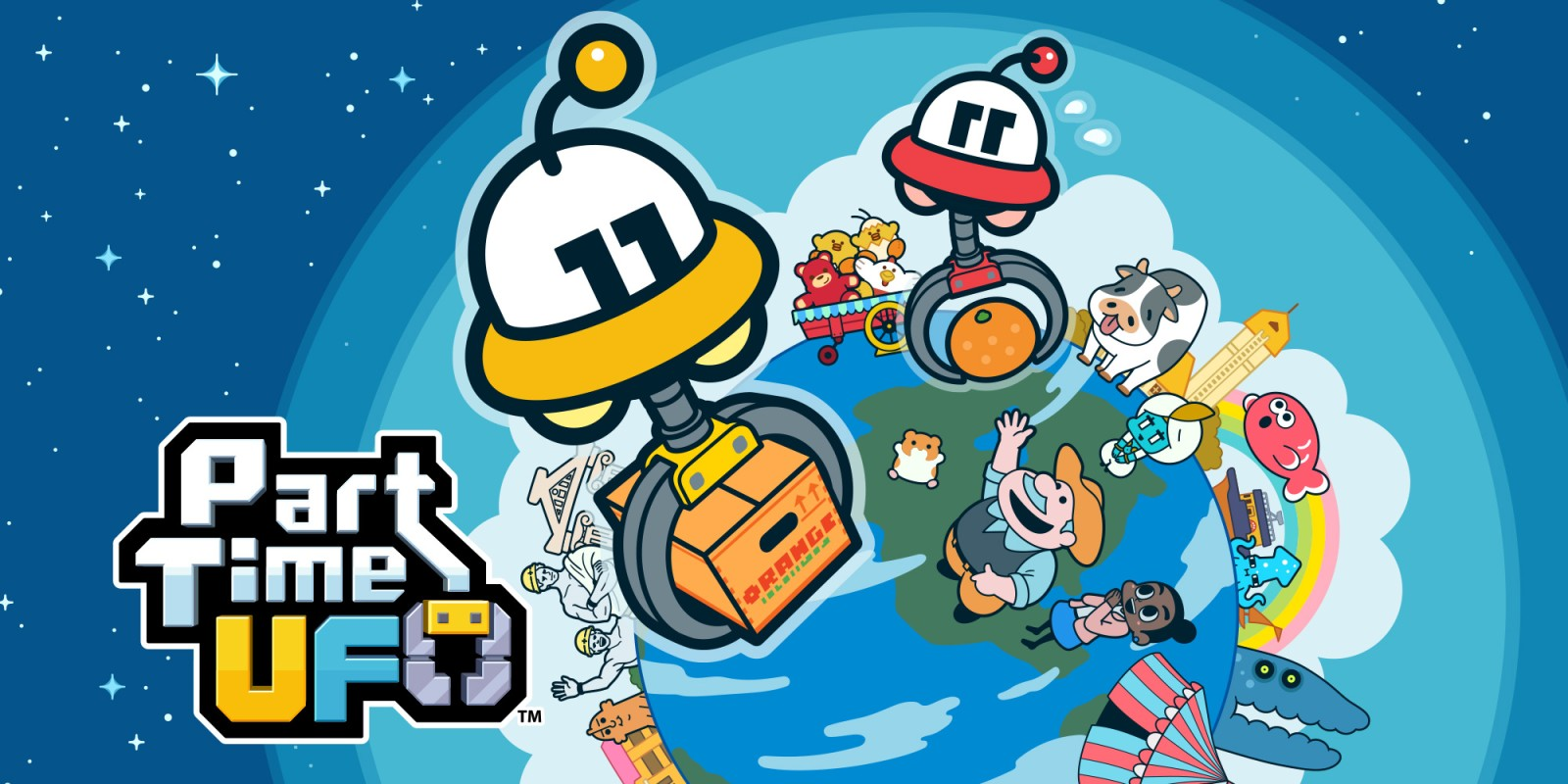 Part Time UFO: The cuddly puzzle fun in the test