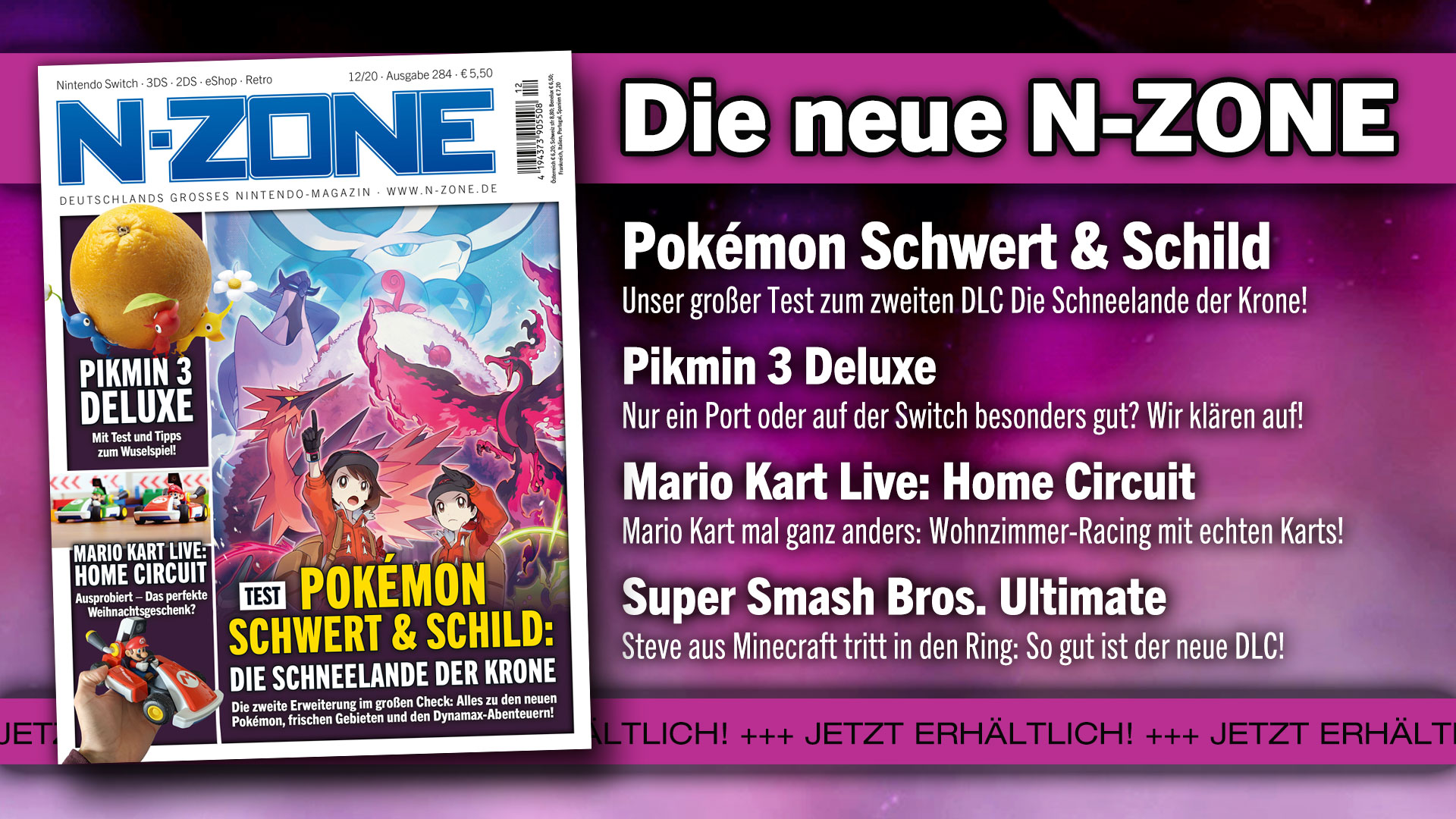 N-ZONE 12/20: Test for the Pokémon DLC and Pikmin 3 and more!