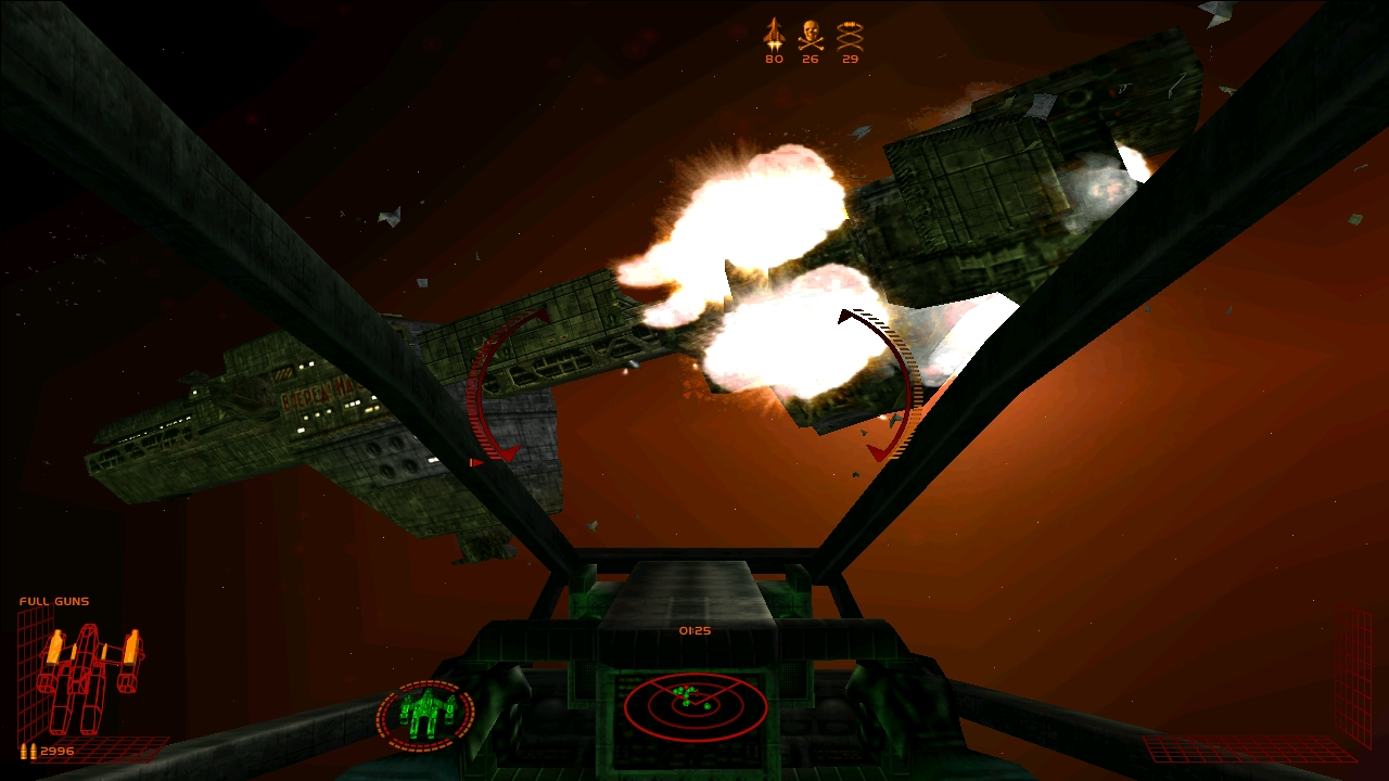 Starlancer to fill the gap until Squadron 42 appears? Almighty!