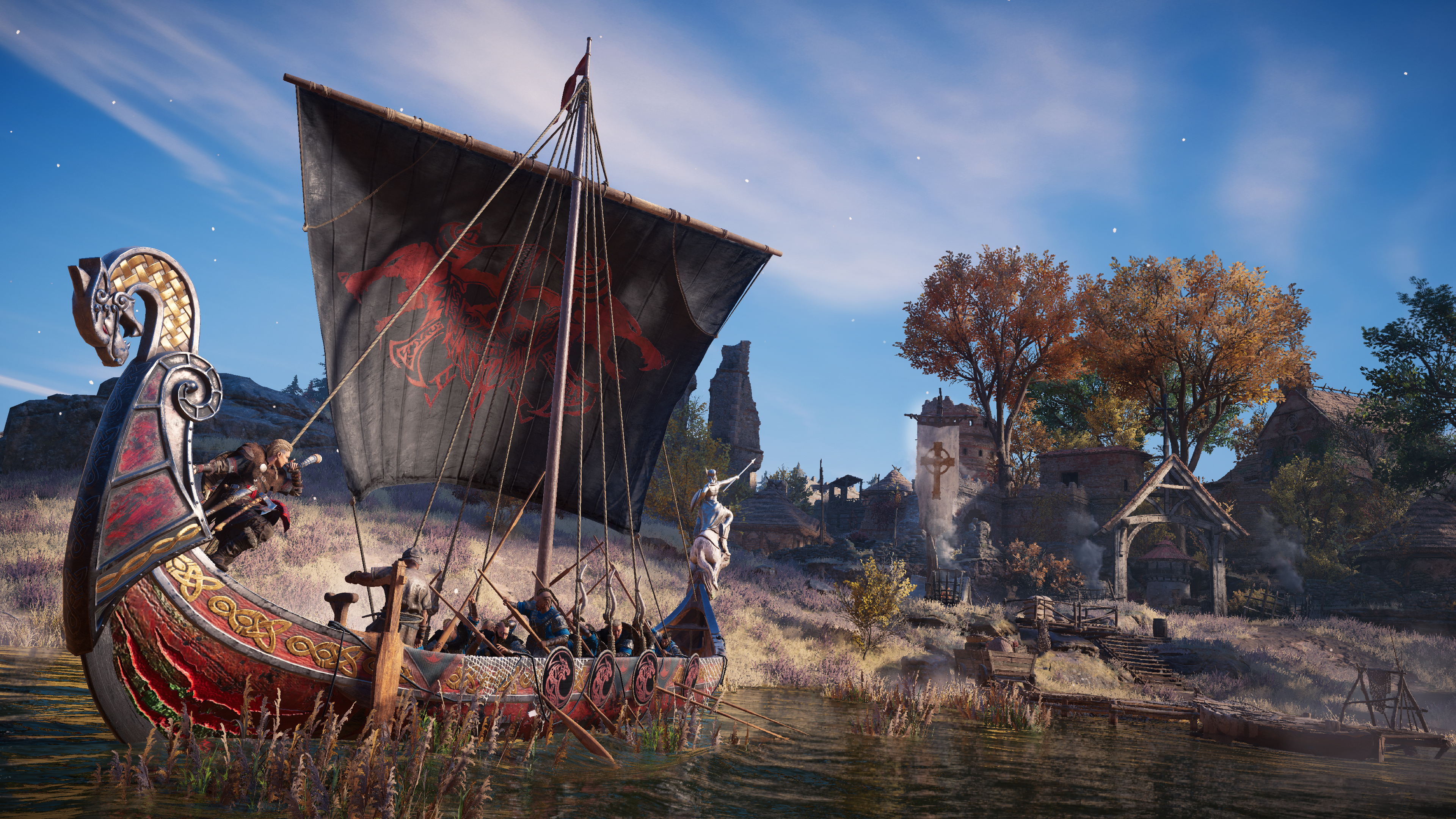 Assassin's Creed Valhalla: Start of the first season with Yule Festival, new update announced