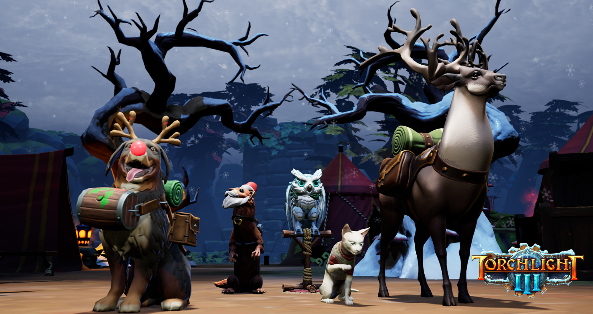 Torchlight 3: Snow & Steam Winter Update Now Available