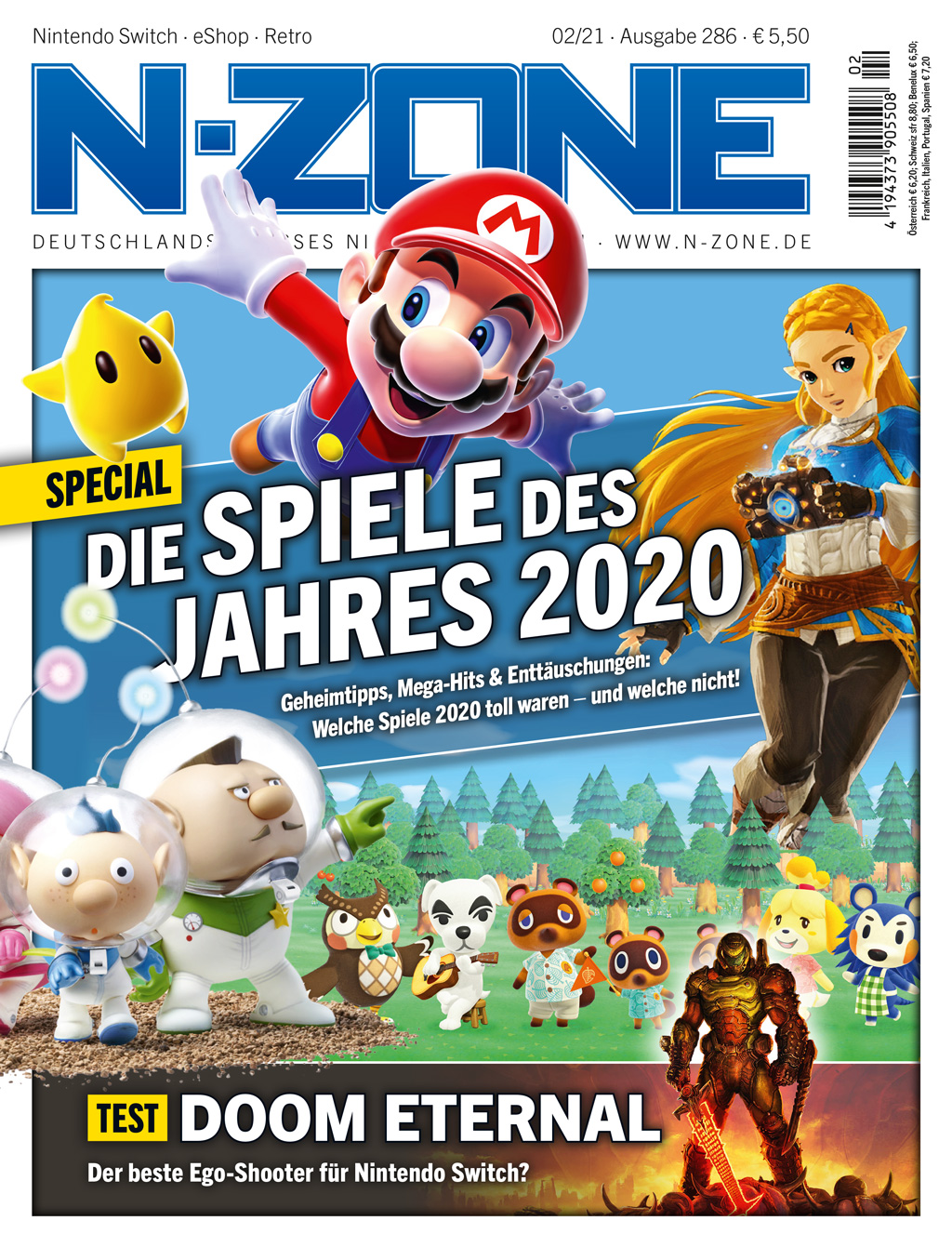 N-ZONE 02/21: So was 2020, Doom Eternal in the test and more!