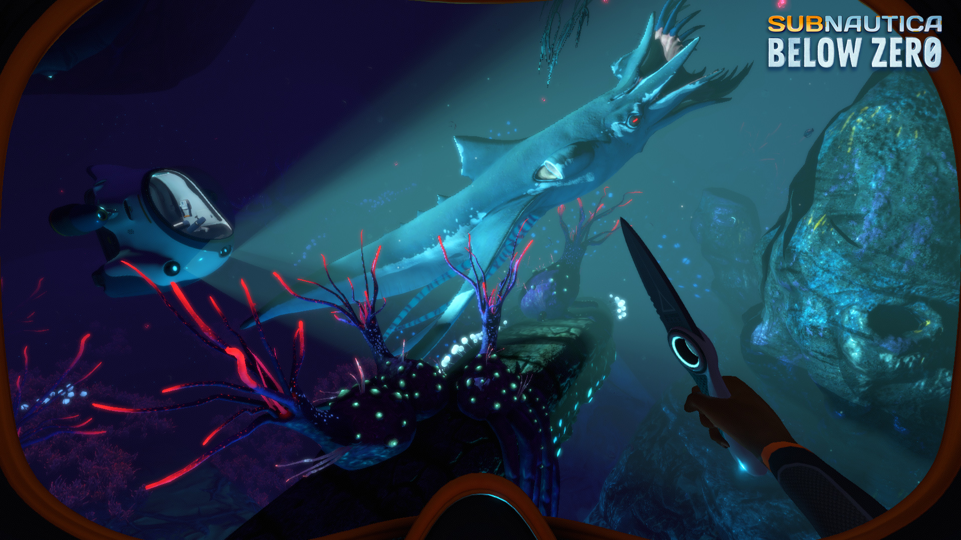 Subnautica: Below Zero in the preview - of icy expanses and penglings