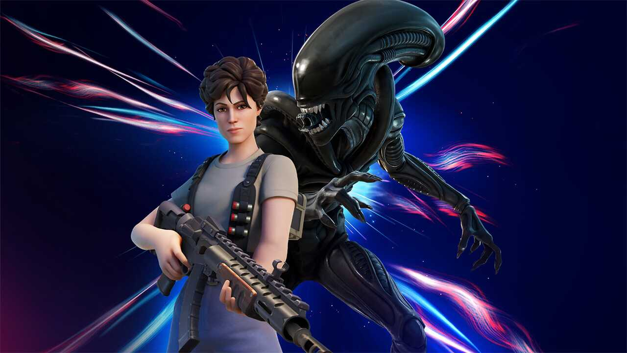 Fortnite: New crossover costumes for Street Fighter and Alien