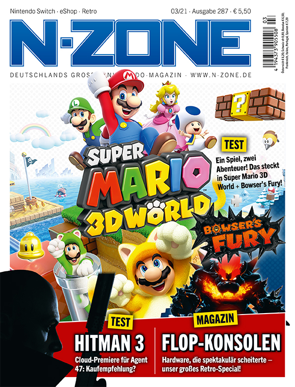 N-ZONE 03/21: Super Mario 3D World + Bowsers Fury in the test and more