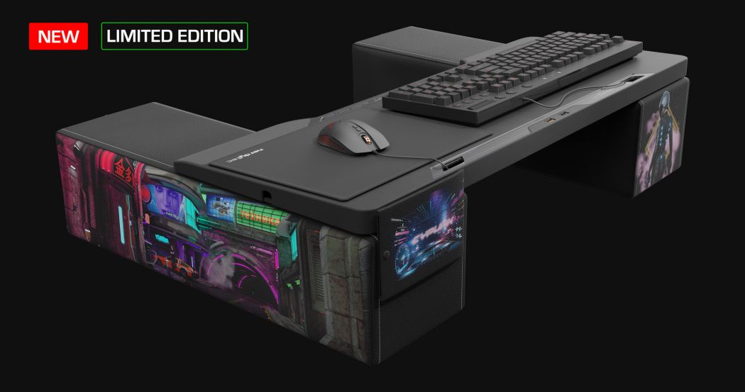 Couchmaster Cycon² in a short test: Enjoy PC games with mouse and keyboard from the sofa
