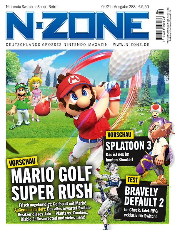 N-ZONE 04/21: Mario Golf: Super Rush, Splatoon 3 and more