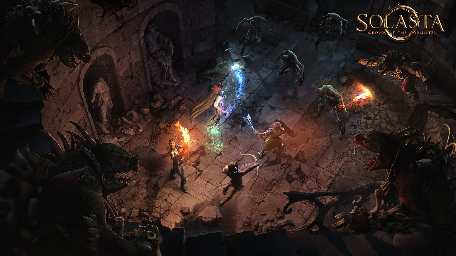 Solasta: BG3 competitor lets you create your own dungeons