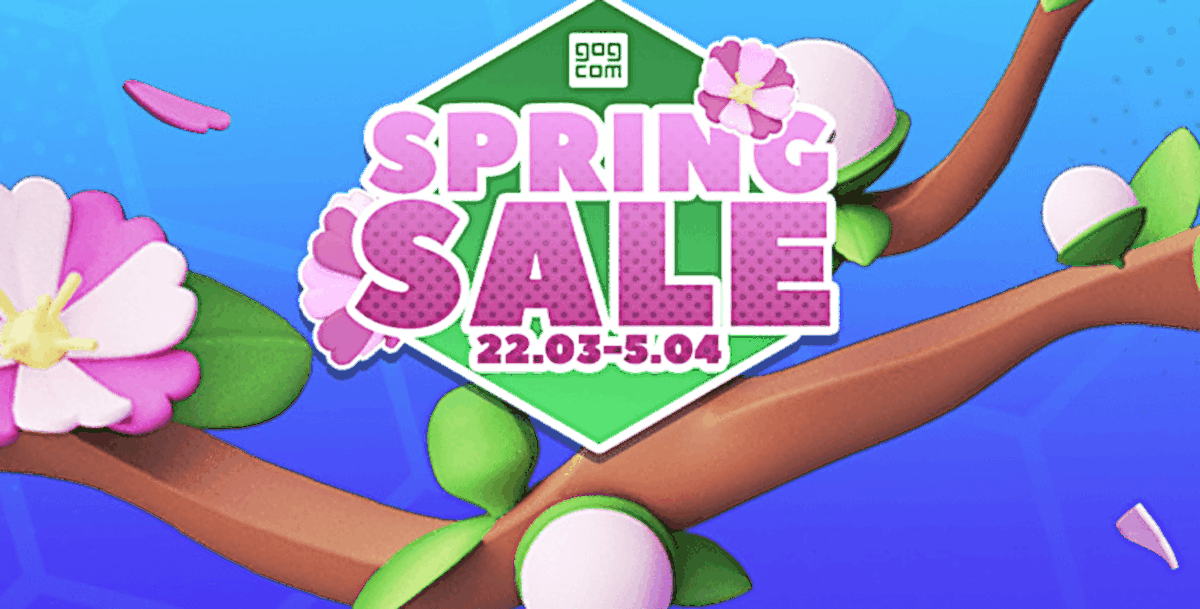 GOG.com: Big spring sale with numerous offers