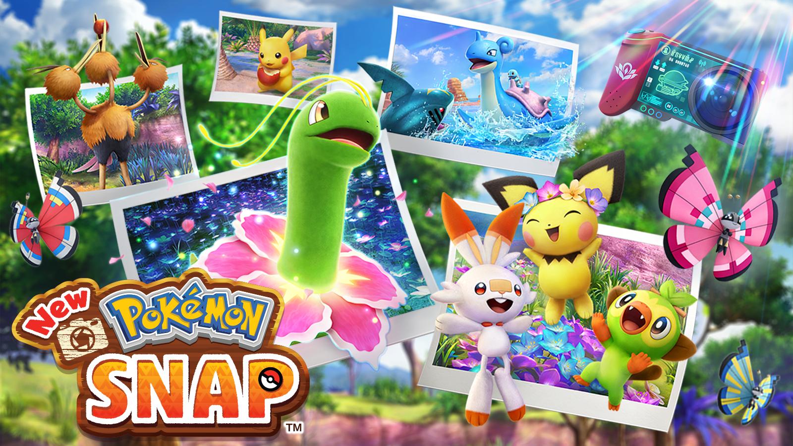 New Pokémon Snap: Pocket Monster Photo Safari for the Switch