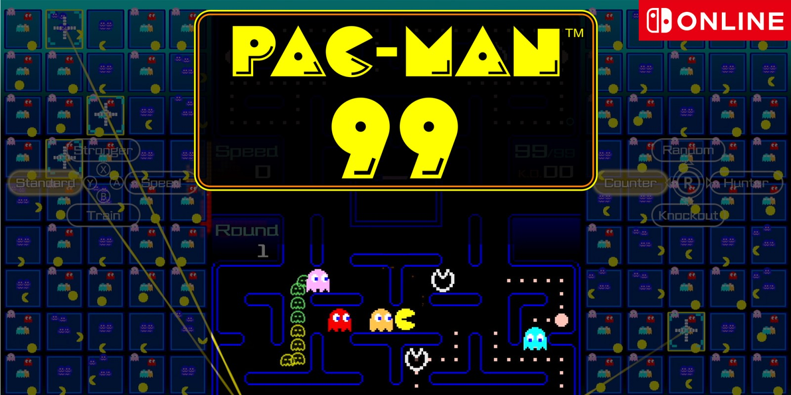 Pac-Man 99: Nintendo announces Battle Royale for Switch
