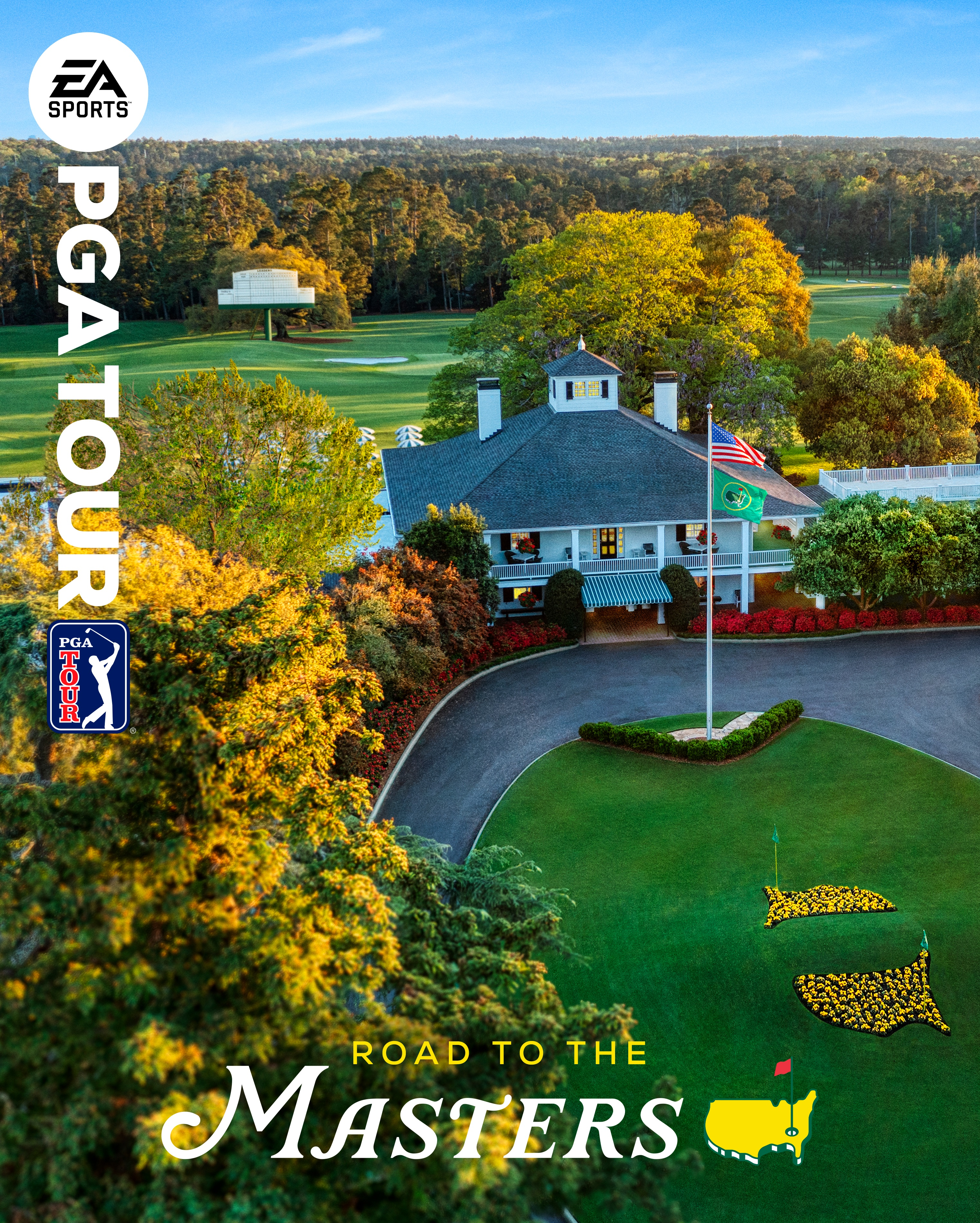 EA Sports PGA Tour: Exclusive to all four major tournaments