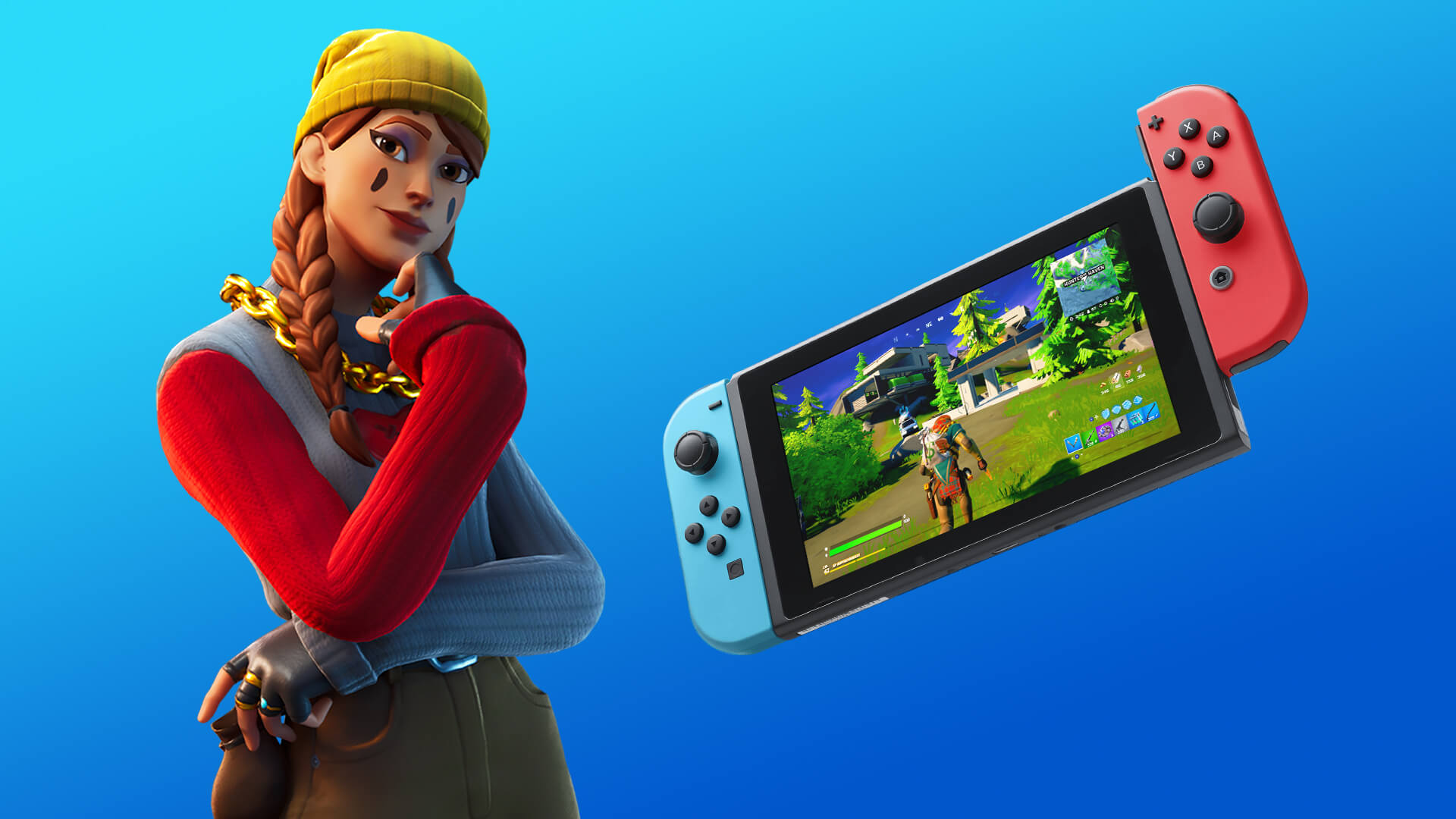 Fortnite: Update improves graphics on the Nintendo Switch