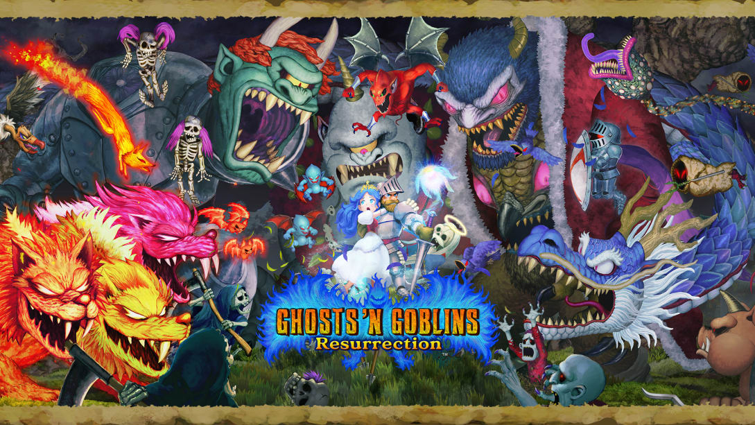Ghosts n Goblins Resurrection: Title also appears for PC and console