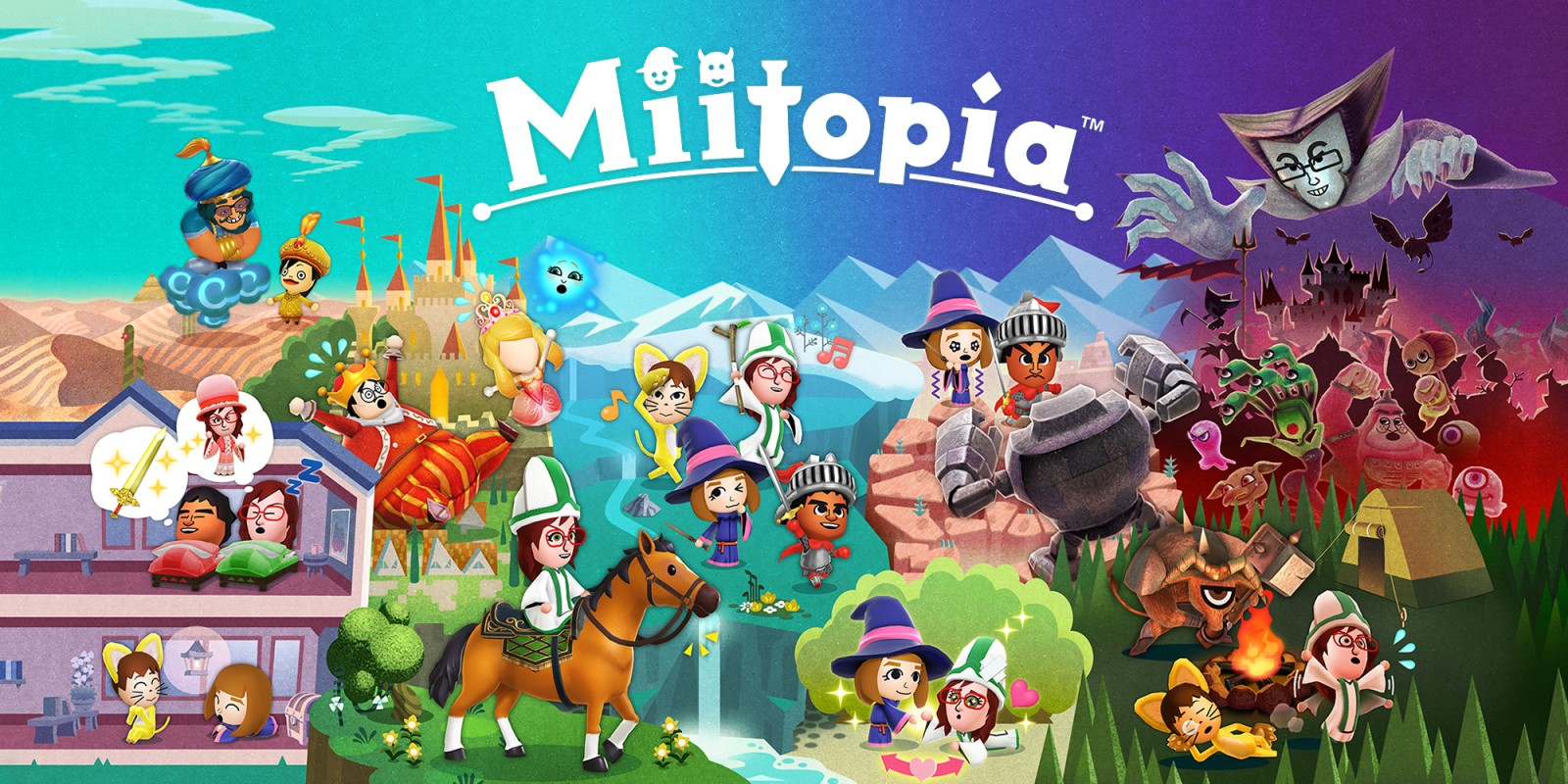 Miitopia: Trailer shows new features of the switch port