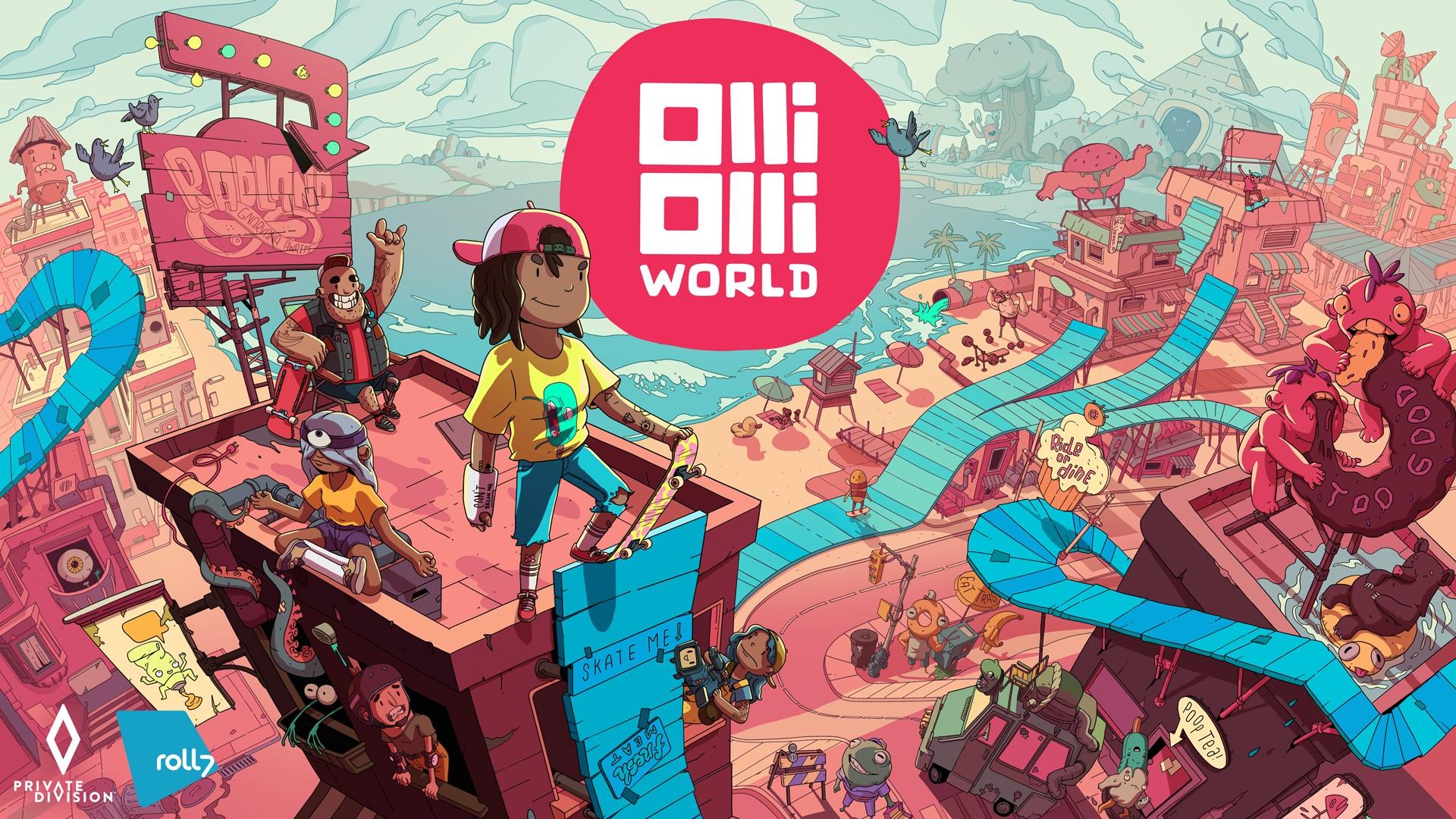 OlliOlli World: New part of the skateboarding series announced