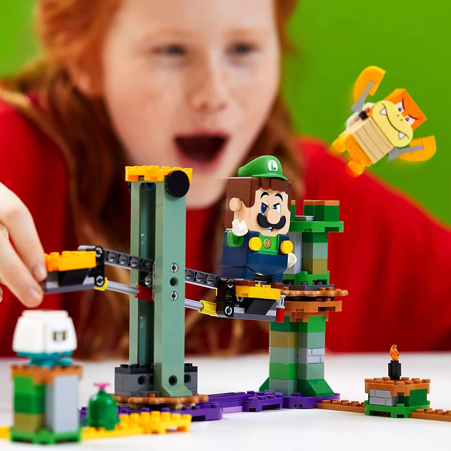 Nintendo: New Lego set with Luigi appeared