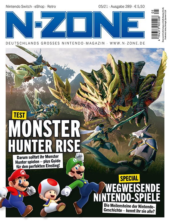 N-ZONE: Monster Hunter Rise and Nintendo Milestones