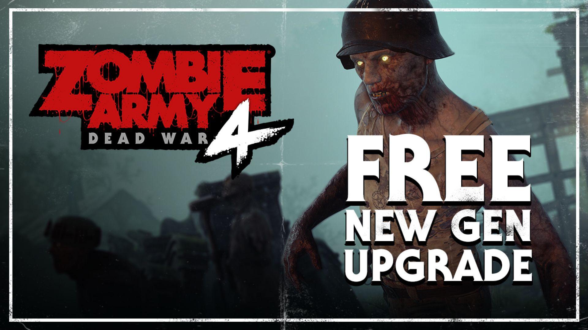 Zombie Army 4: Free News Gene Upgrade