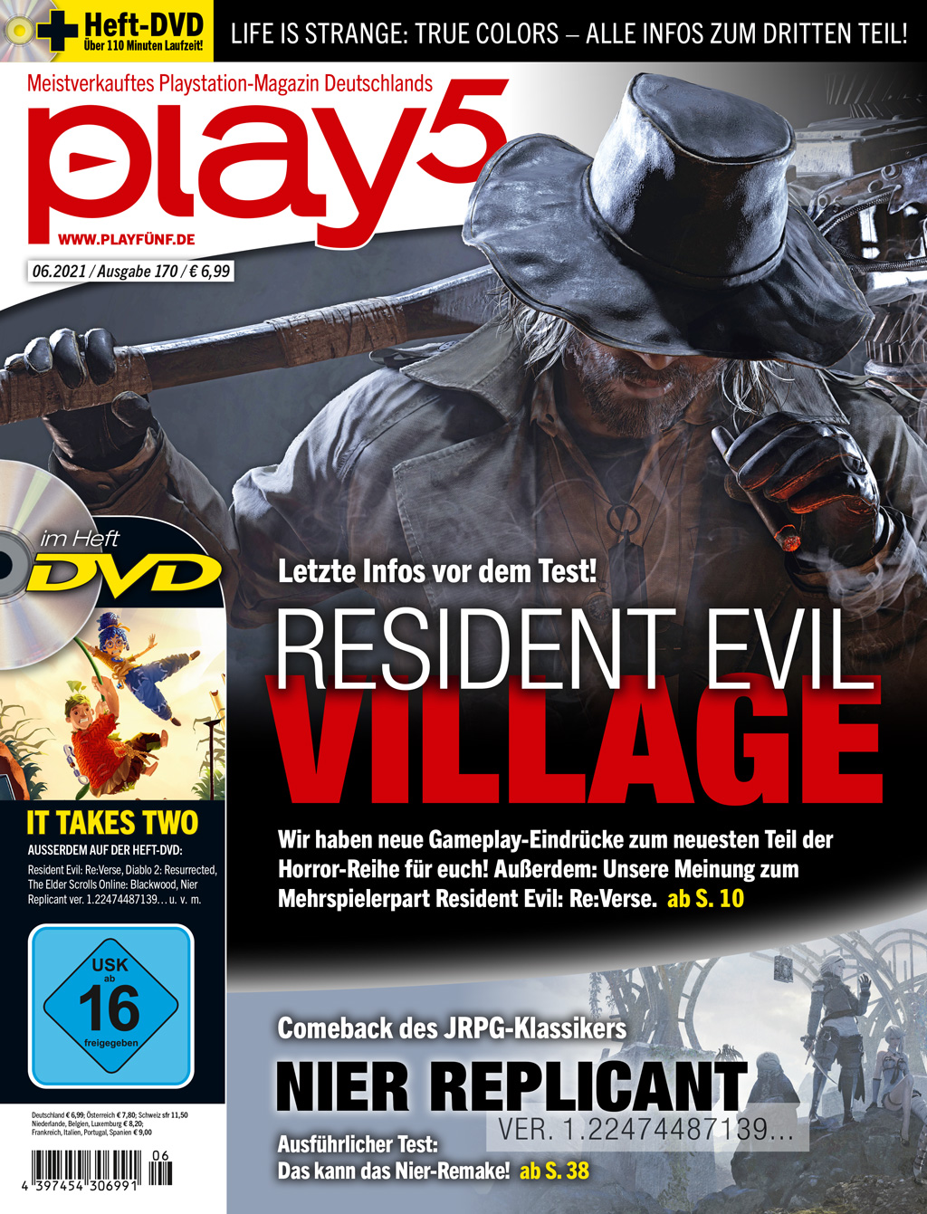 play5 06/21 with Resident Evil: Village, Nier Replicant and more!