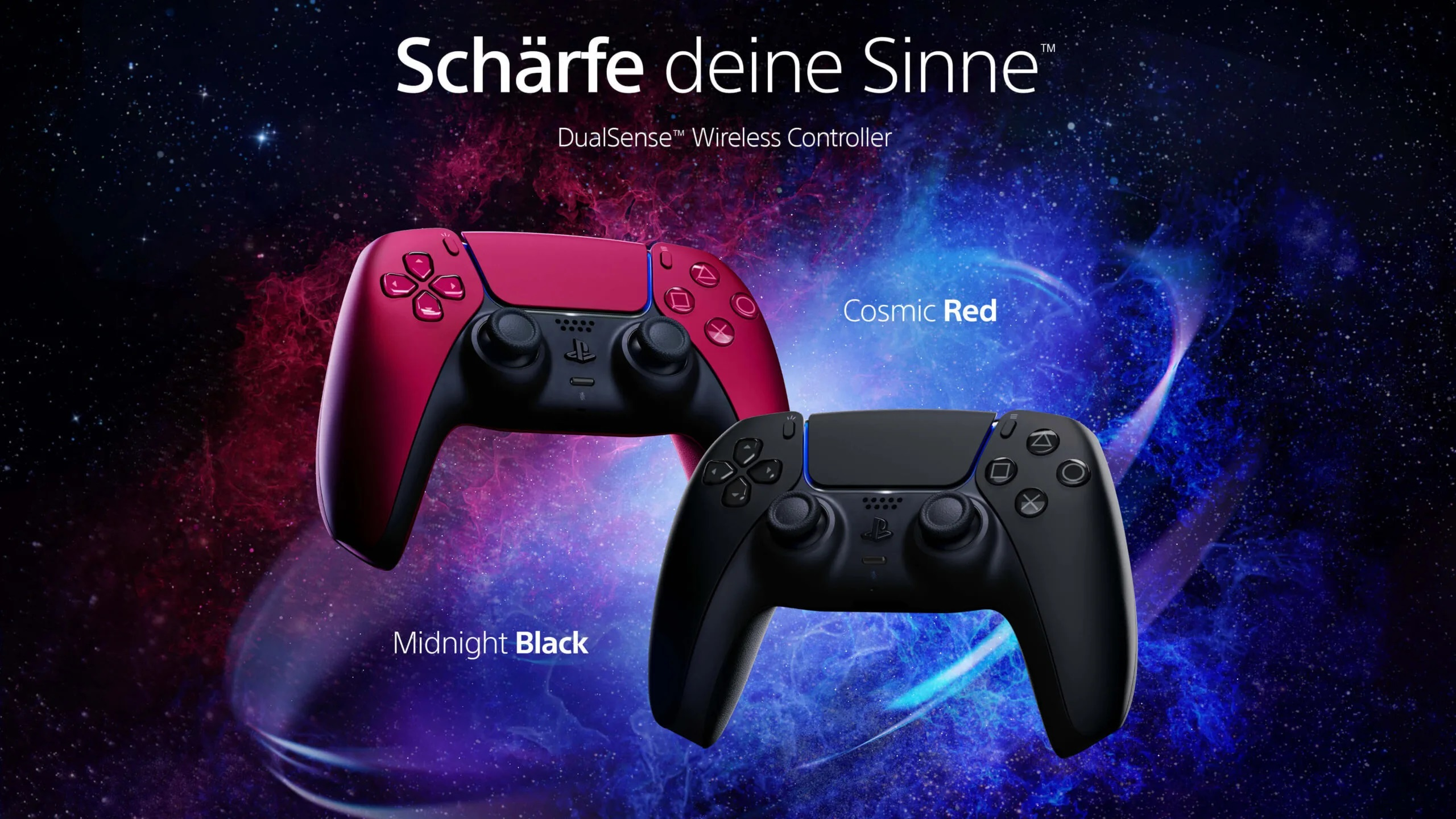 PS5: New colors announced for the DualSense controller