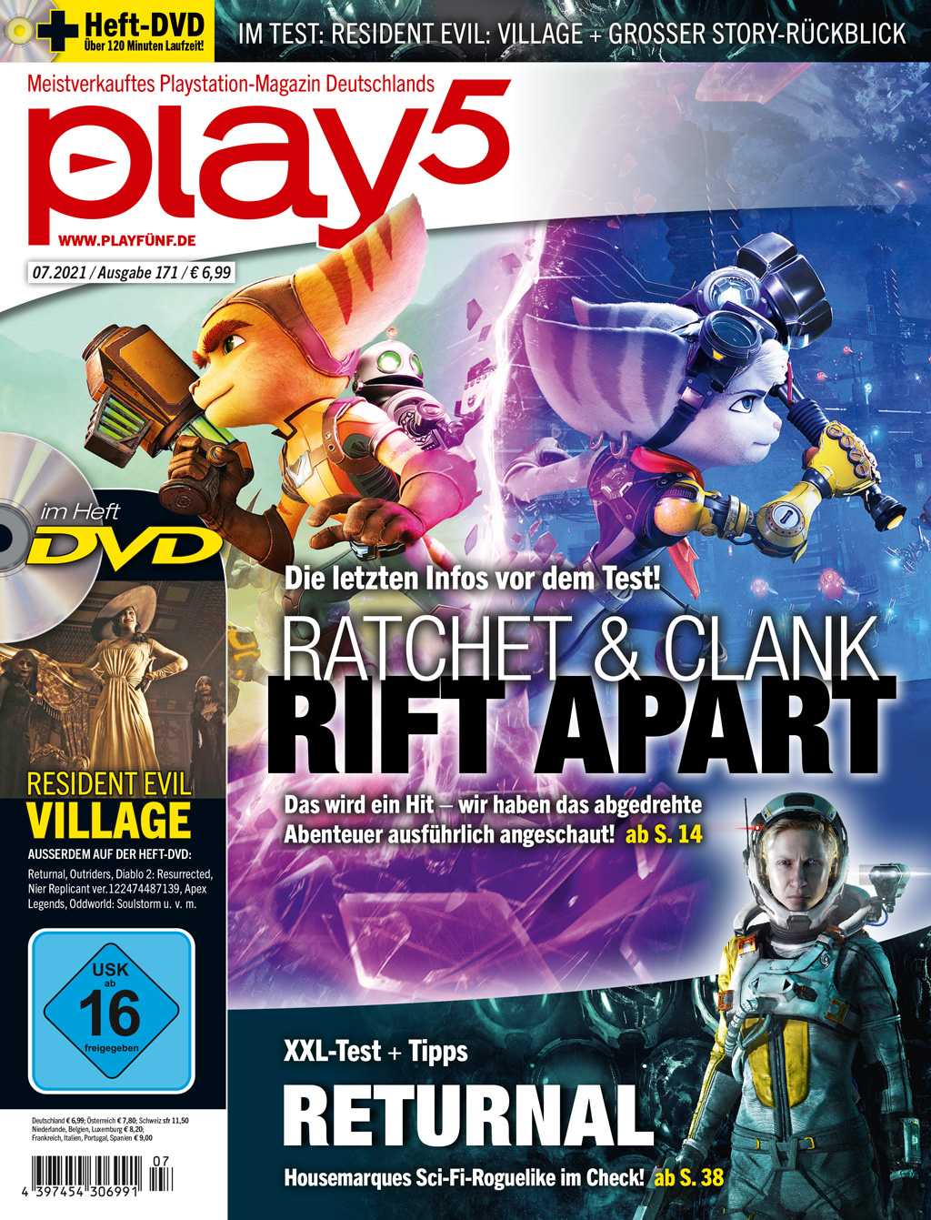 play5 07/21 with Ratchet & Clank: Rift Apart, Returnal and more!