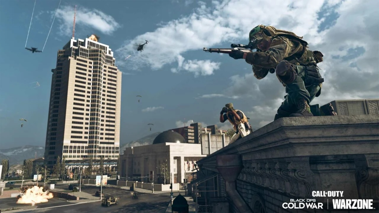 Open Call of Duty Warzone: Vault in Nakatomi Plaza - guides to the keycards