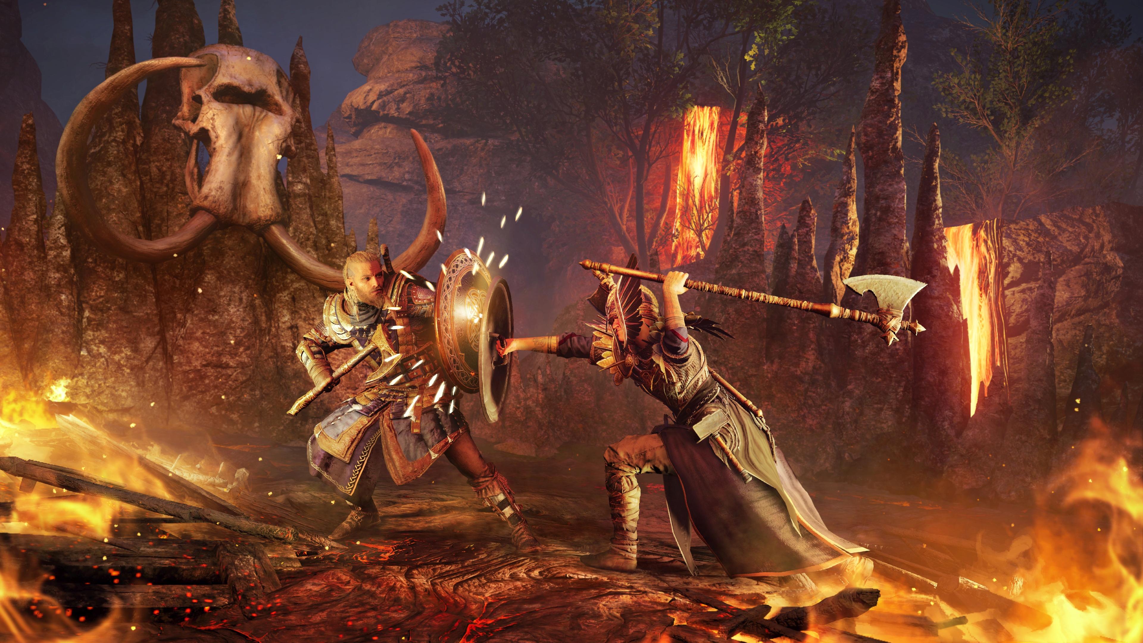 Assassin's Creed Valhalla: start master challenges - test skills, get a reward