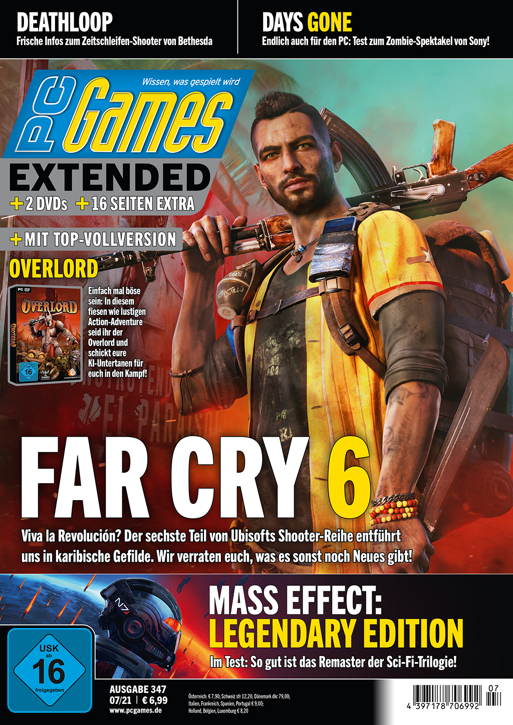 PC Games 07/21 with Far Cry 6, Deathloop, Days Gone and more!