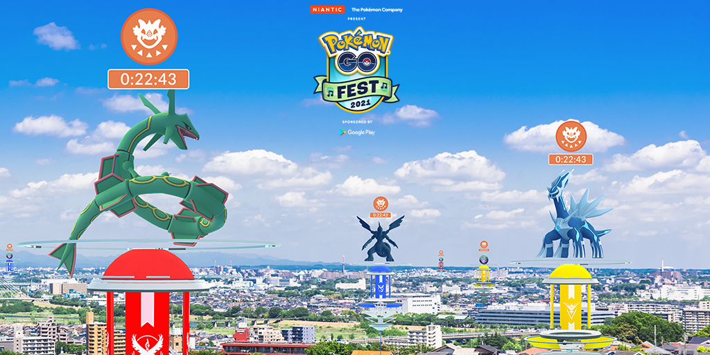 Pokémon GO Fest 2021: Raid Day with legendary Pokémon