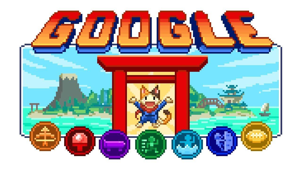 Google Doodle: Free retro Olympics game