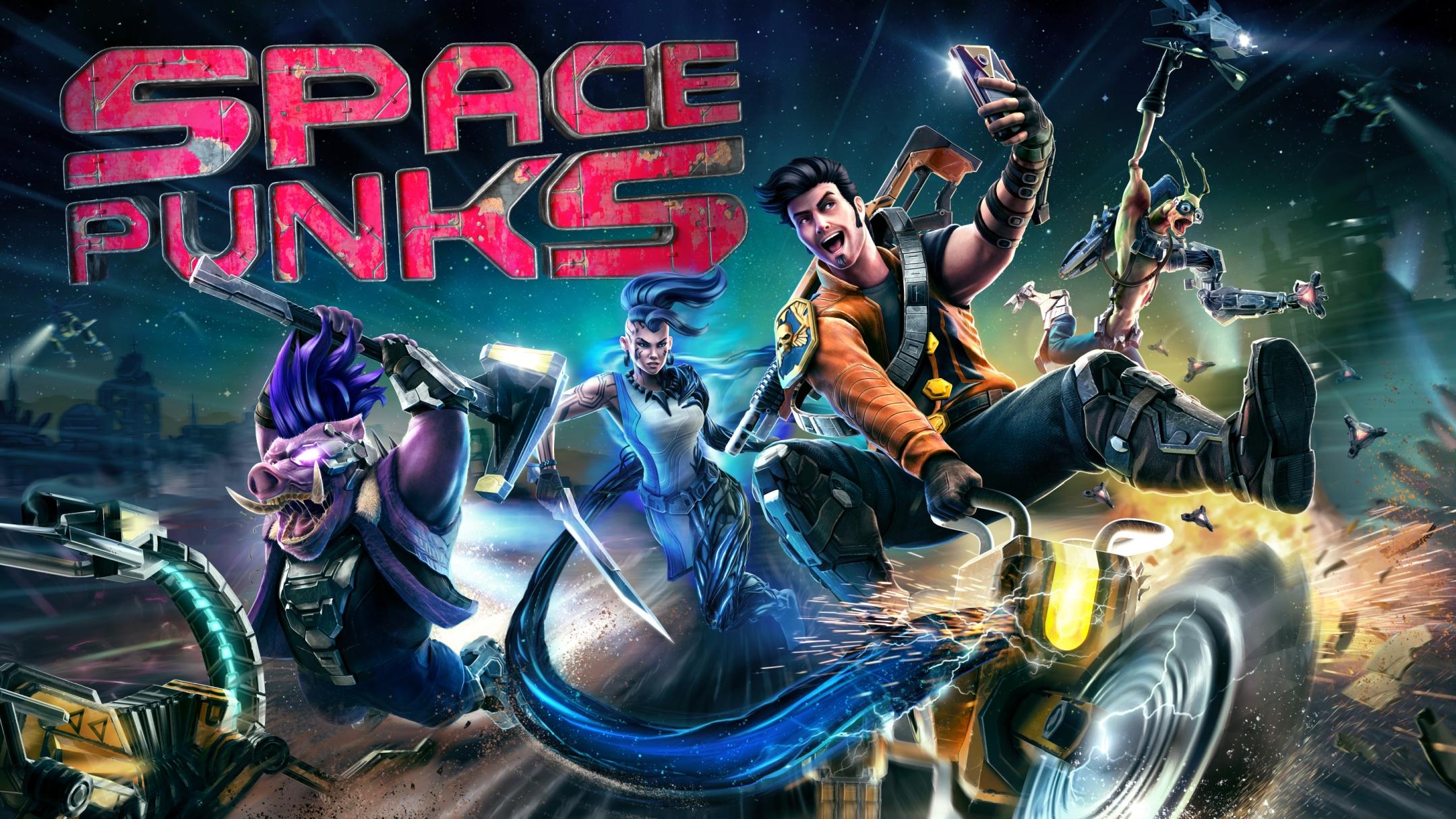 Space Punks: Twin Stick Shooter Meets Borderlands - First Trailer