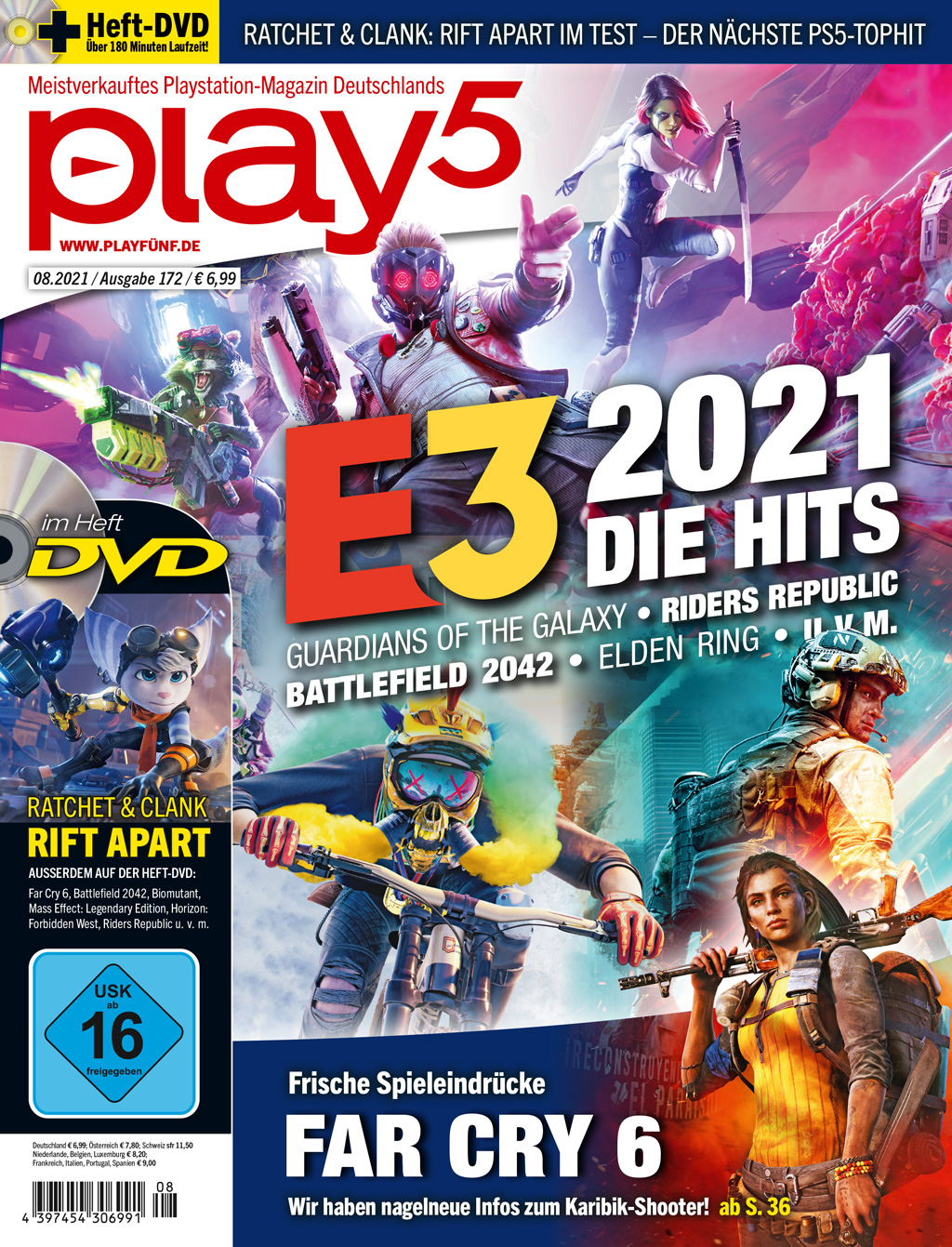 play5 08/21 with a large E3 series, test on Ratchet & Clank and much more. m.