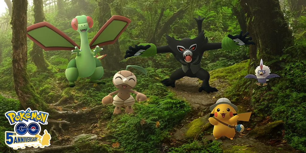 Pokémon GO: event start to secrets of the jungle - this awaits you