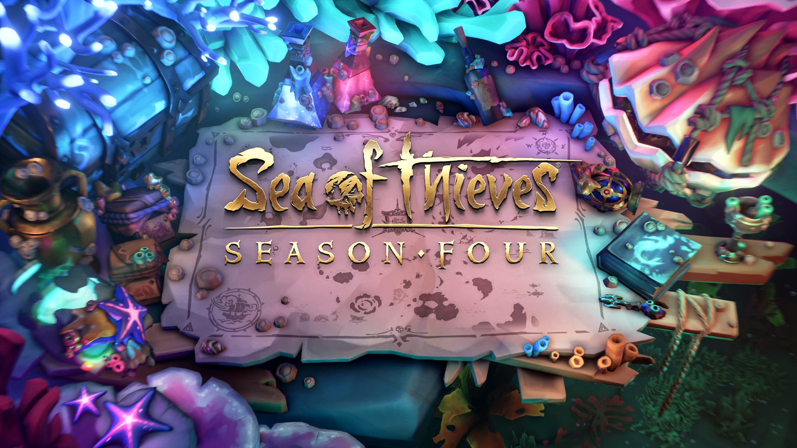 Sea of Thieves: In the fourth season you go to the diving station