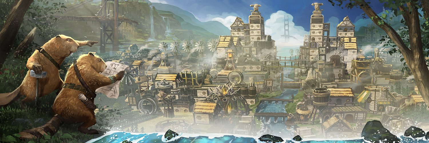 Timberborn: The Biber City Builder lands in the Steam charts