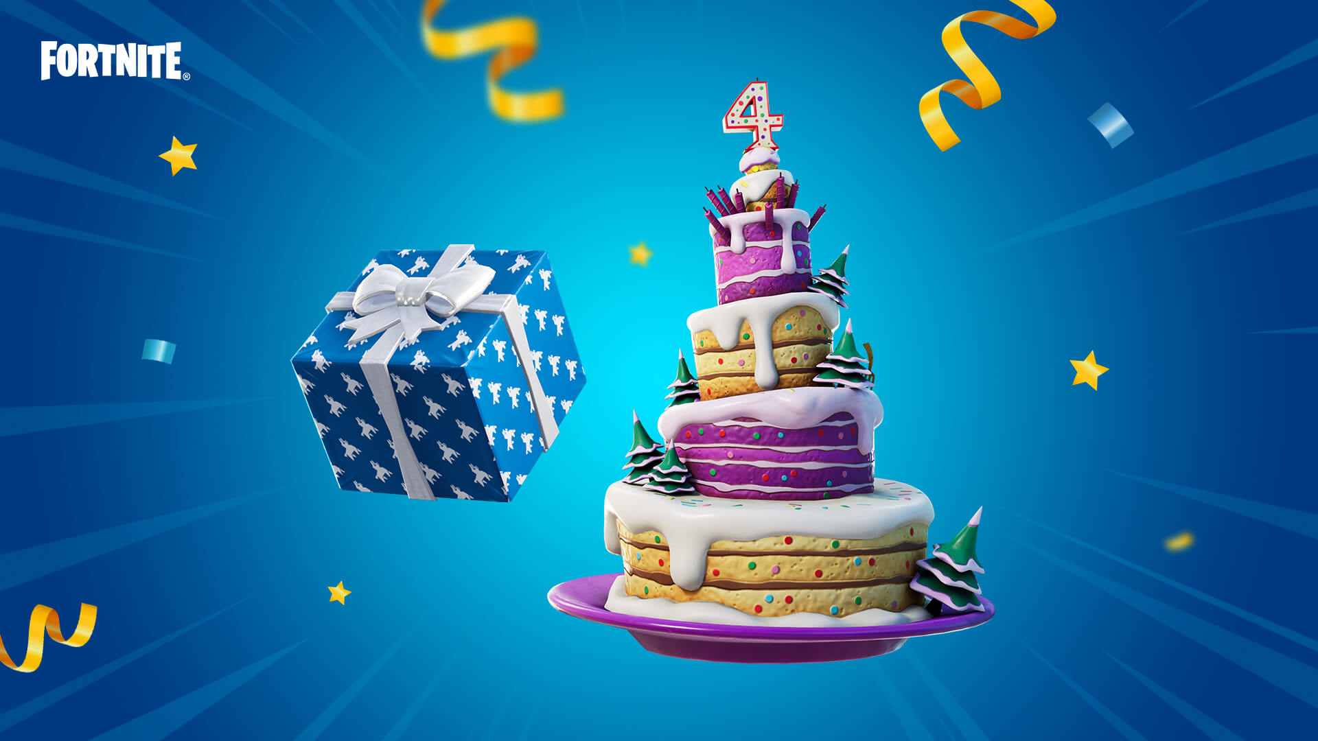 Fortnite: Fourth Anniversary Free Items - Event Start Time, Missions & Gifts