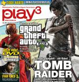 play3 1/13 mit GTA 5, Tomb Raider, Far Cry 3 / Codekarte im Heft: 1 Monat PlayStation Plus gratis