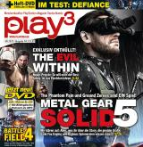 play³ 06/13 mit Titelstory Metal Gear Solid 5 + Exklusiv-Studiobesuche The Evil Within + Castlevania: Lords of Shadow 2