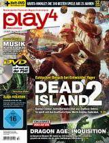 play4 10/14 mit Dead Island 2, Dragon Age: Inquisition, Metro Redux, Far Cry 4 und Leserwahl-Booklet