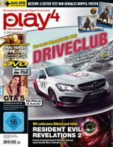 play4 11/14 mit Driveclub und Resident Evil: Revelations 2 / Gratis Destiny-Poster