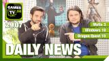 Video-Newsüberblick: Windows 10, Mafia 3, The Witcher 3 und mehr